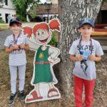 Kinder mit Betty Bernstein